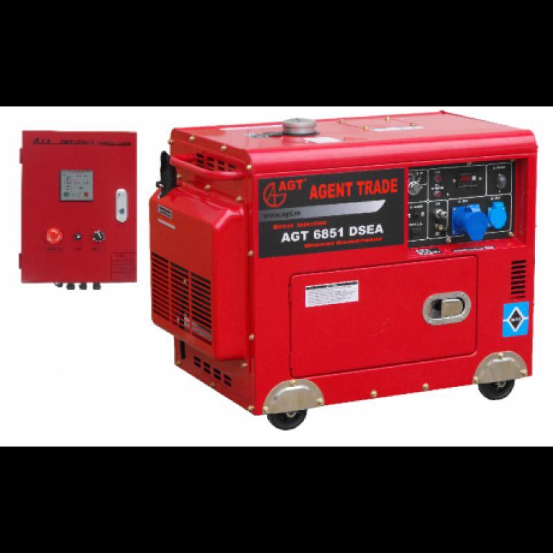 Generator Monofazat Cu Automatizare AGT 6851 DSEA - Panouri Fotovoltaice