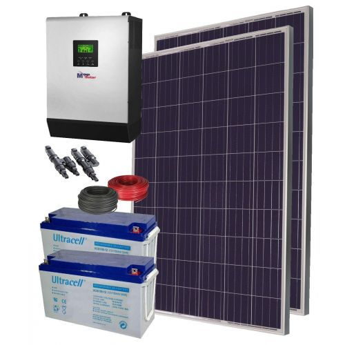 Sistem fotovoltaic 2KWp / 10kw-zi Off Grid 48V Ultracell Gel