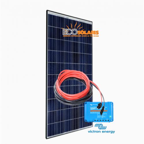 Set Panou fotovoltaic 12V 270W Policristalin - Controler solar MPPT Victron SmartSolar 100/20