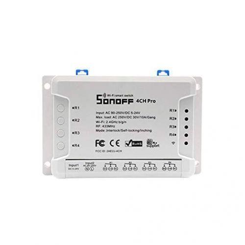 Sonoff 4CH - PRO  R2 Intrerupator wireless cu 4 canale