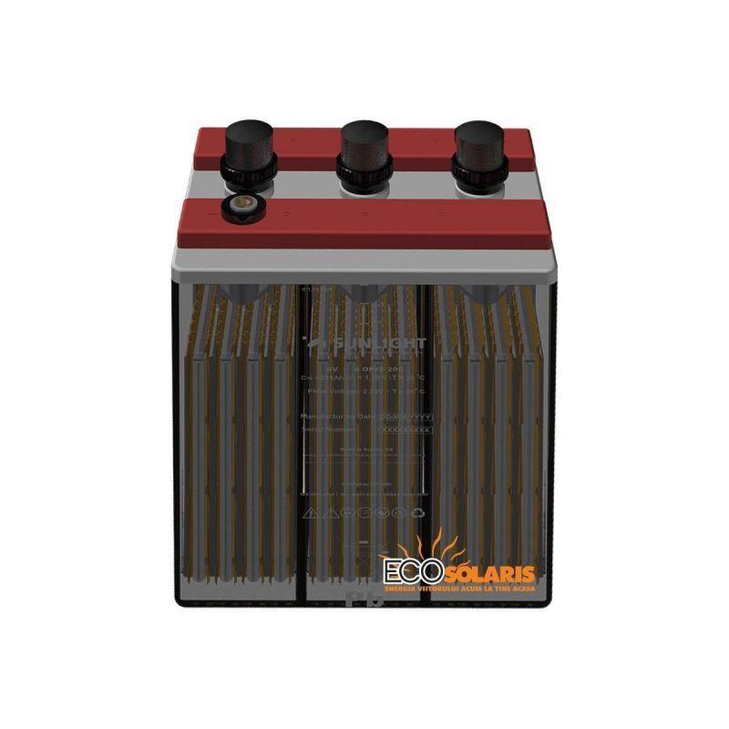 Baterie Sunlight Solar Res OPzS 6V 385 Ah - Panouri Fotovoltaice