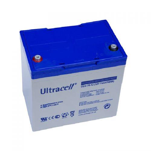 Baterie UCG 12V 75A Gel Ultracell