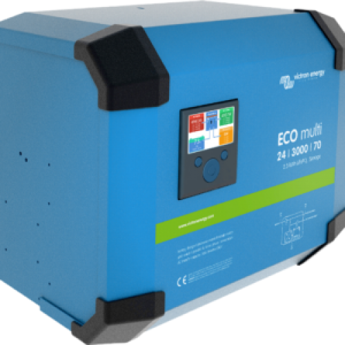 Invertor Victron Energy Hibrid ECOmulti 24/3000/70-50 2,3 kWh LiFePO₄