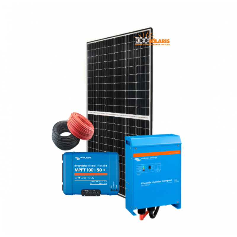 Sistem fotovoltaic 1KWp / 5kw-zi Off Grid 12V Ultracell - Panouri Fotovoltaice