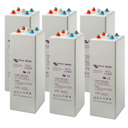 Baterie victron tubulara GEL 20 OPzV 2500