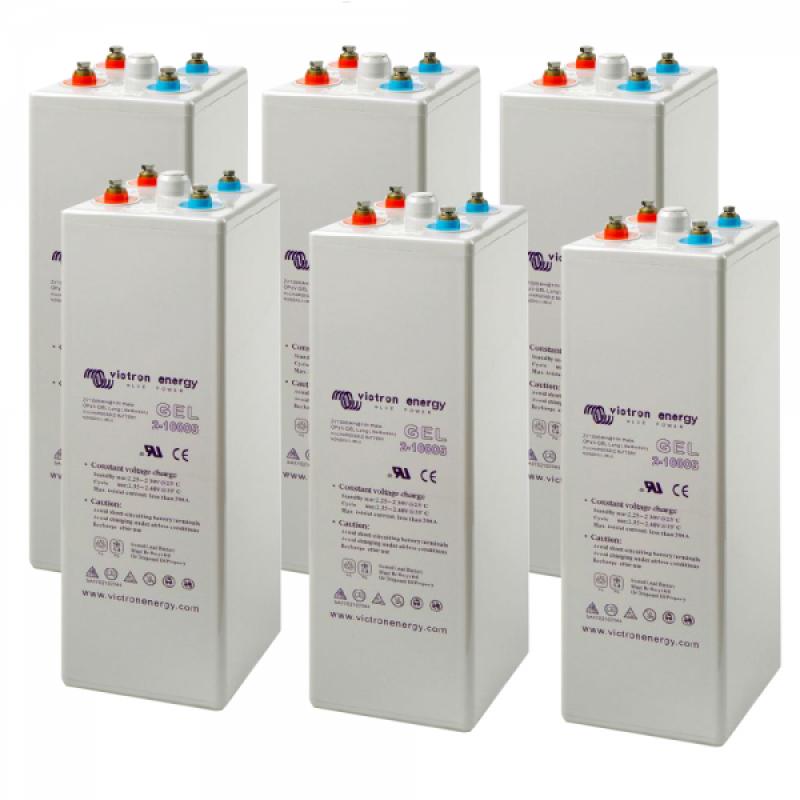 Baterie victron tubulara GEL 24 OPzV 3000 - Panouri Fotovoltaice