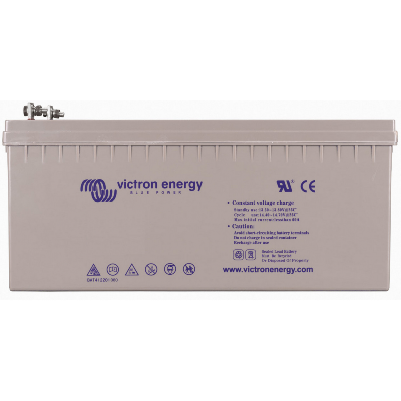 Baterie Victron Gel 12v 265Ah Deep Cycle - Panouri Fotovoltaice