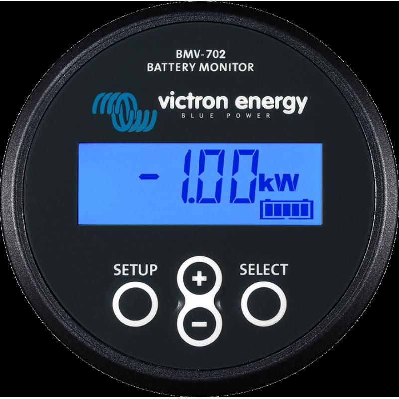 BMV-702 Black 9V-90V VDC Battery Monitor Victron Energy - Panouri Fotovoltaice