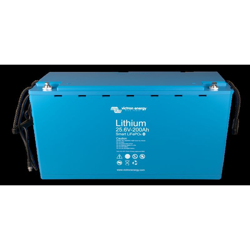 Baterie Victron Lithium-Ion LiFePO4 25,6V/200Ah - Smart - Panouri Fotovoltaice