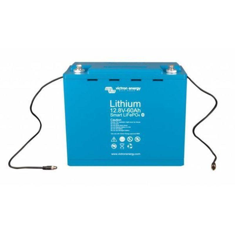 Baterie Victron Lithium-Ion LiFePO4 12,8V/60Ah - Smart - Panouri Fotovoltaice