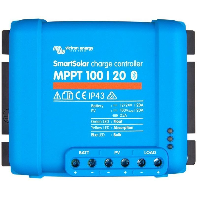 Victron Energy SmartSolar MPPT 100/20 12/24VDC - Panouri Fotovoltaice