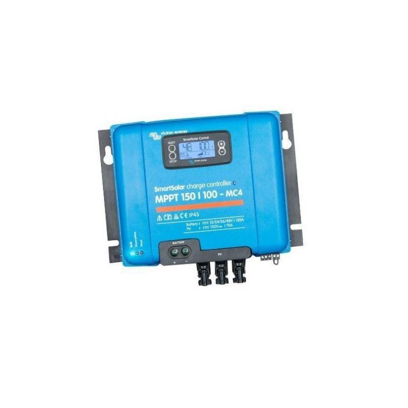 Smartsolar MPPT Charge Controller 150/100-MC4 150Voc 100A Victron Energy - Panouri Fotovoltaice