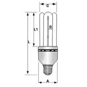 Bec 12V 11W - 2700K - Panouri Fotovoltaice