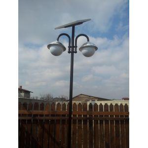 Stalp de iluminat solar 2x7w (independent) - Panouri Fotovoltaice
