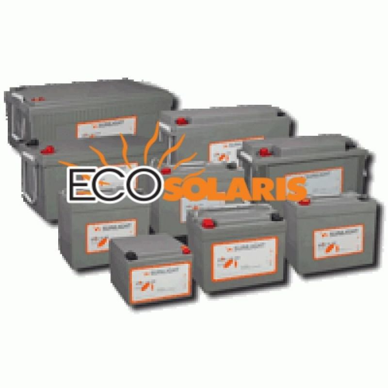 Baterie Sunlight Gel SPG 12V 100A - Panouri Fotovoltaice