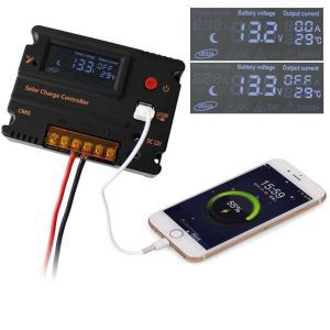 Controler Solar CMG2420 20A 12V LCD / USB