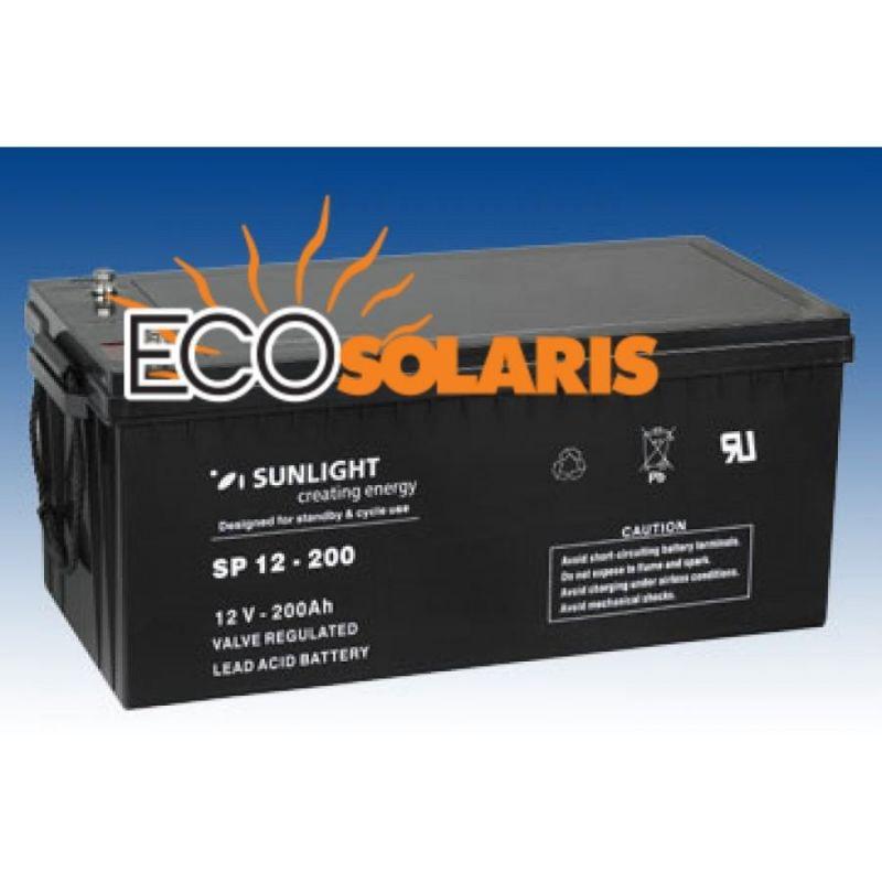 Baterie SunLight 12V 200Ah