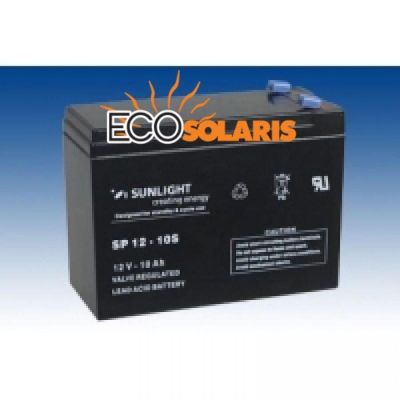 Baterie Sunlight 12V 10Ah - Panouri Fotovoltaice
