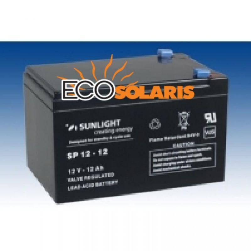 Baterie Sunlight 12V 12Ah - Panouri Fotovoltaice