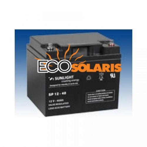 Baterie Sunlight 12V 40Ah - Panouri Fotovoltaice