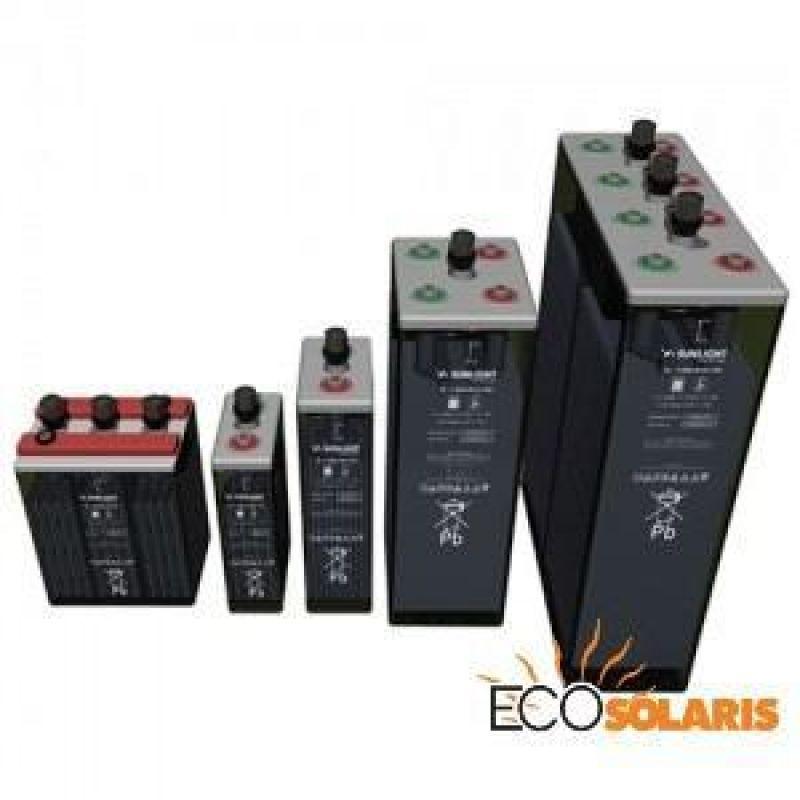 Baterie Solara Sunlight Res OPzS 2V 2920 Ah - Panouri Fotovoltaice