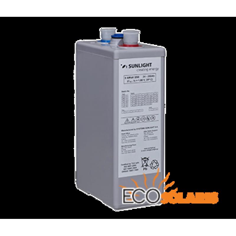 Baterie Sunlight Res OPzV 12V 125A - Panouri Fotovoltaice