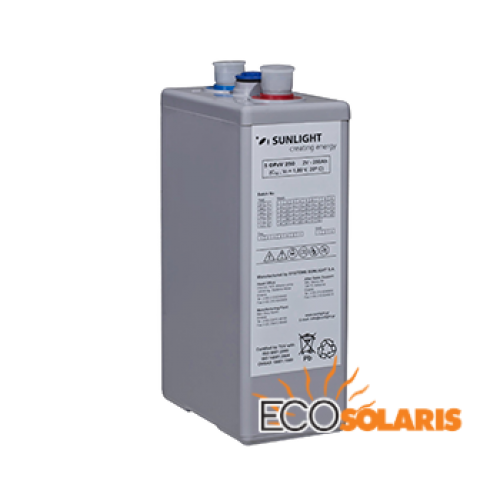 Baterie Sunlight Res OPzV 2V 4245A