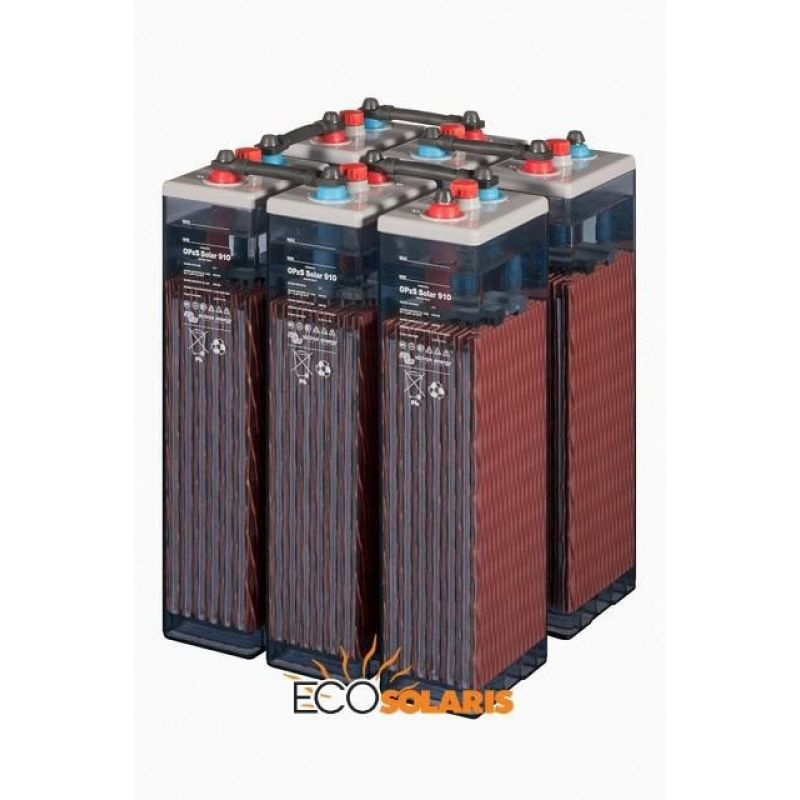 Baterie Tubulara OPzS Solar 3040 Ah - Panouri Fotovoltaice