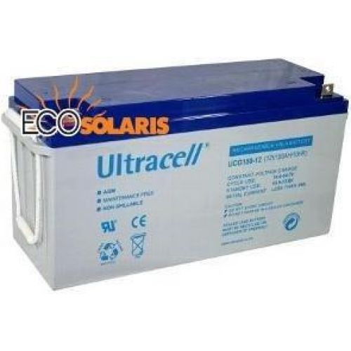 Baterie Ultracell UCG150-12 (12V 150A GEL Deep Cycle)