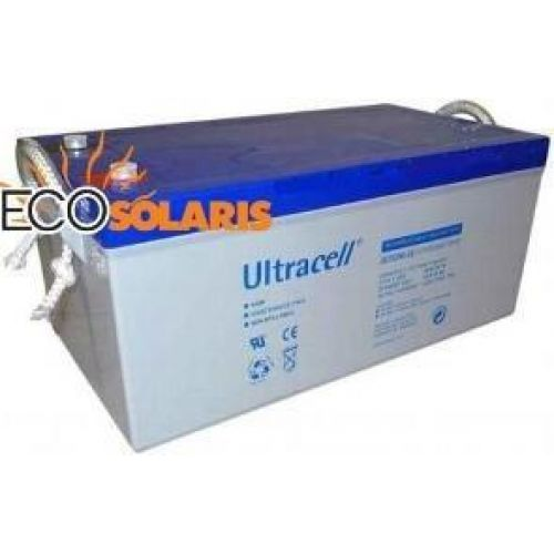 Baterie Ultracell UCG250-12 ( 12V 250A GEL Deep Cycle)