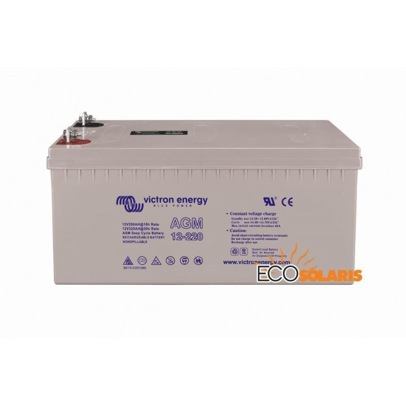 Baterie Victron Gel 12v 220Ah - Panouri Fotovoltaice
