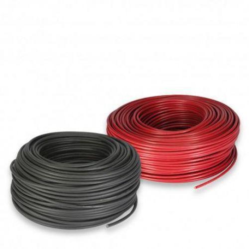 Cablu solar 4mm 100ml 50ml rosu - 50ml negru - Panouri Fotovoltaice