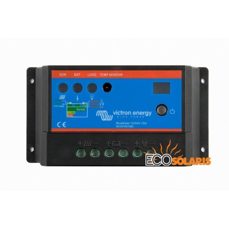 Controler BlueSolar PWM 12/24V 10A - Panouri Fotovoltaice