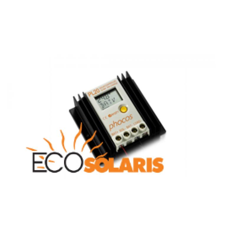 Controler Phocos PL 12/24/32/36/48 V - 20/20A - Panouri Fotovoltaice