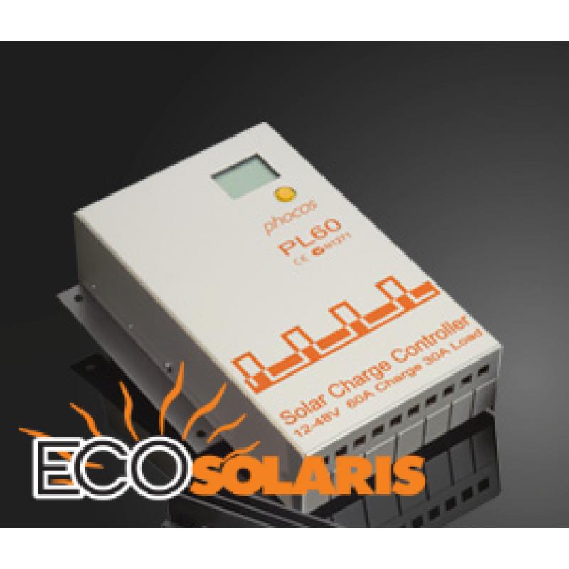 Controler Phocos PL 12/24/32/36/48 V - 60/30A - Panouri Fotovoltaice