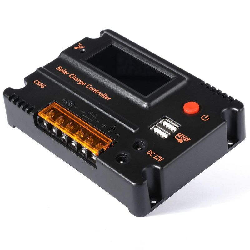 Controler Solar CMG2420 20A 12V LCD / USB - Panouri Fotovoltaice