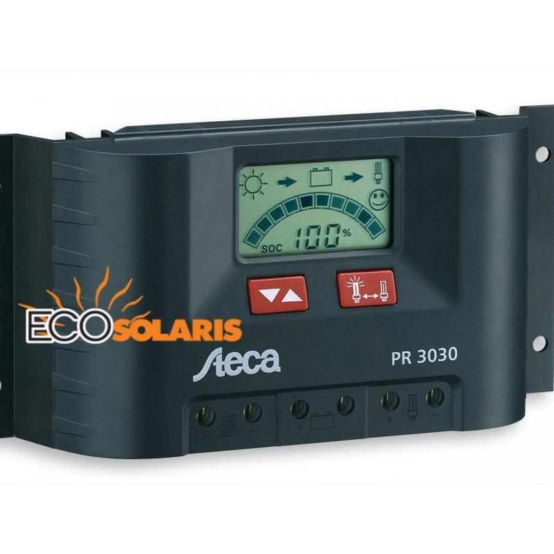 Controler solar Steca PR3030/30A - Panouri Fotovoltaice