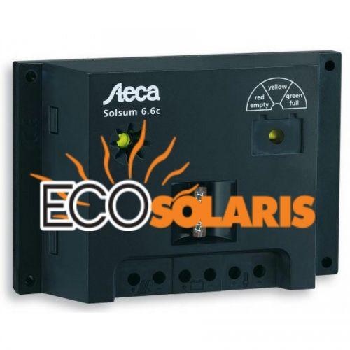 Controler Steca Solsum 10.10F 12V/24V 10A - Panouri Fotovoltaice