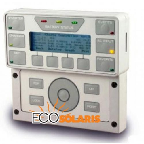 Controler de sistem cu afisarea parametrilor OutBack MATE3 - Panouri Fotovoltaice