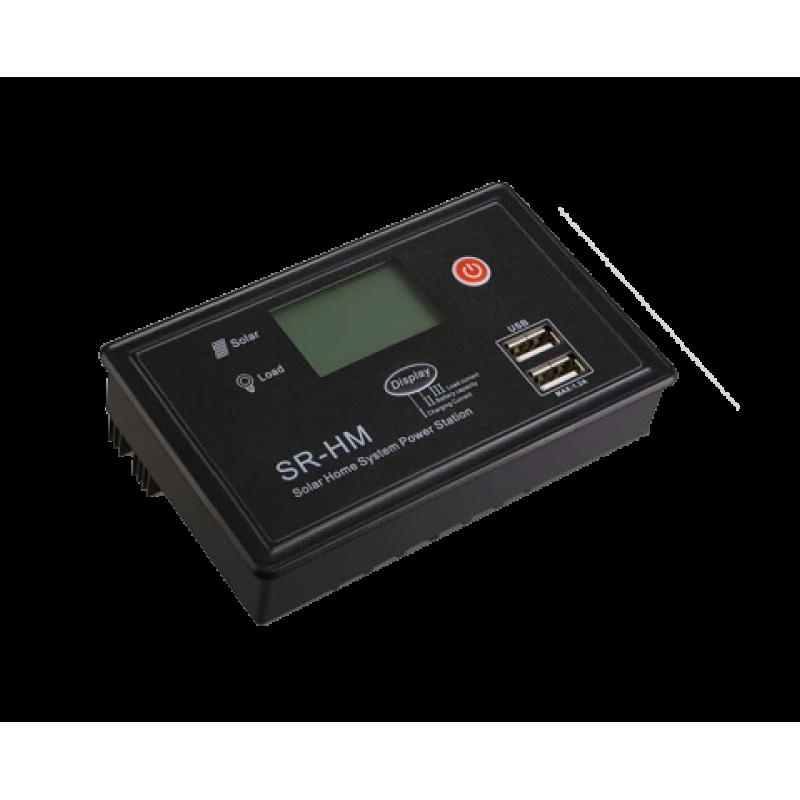Controler solar de incarcare PWM HM-CU 20A 12V/24V LCD