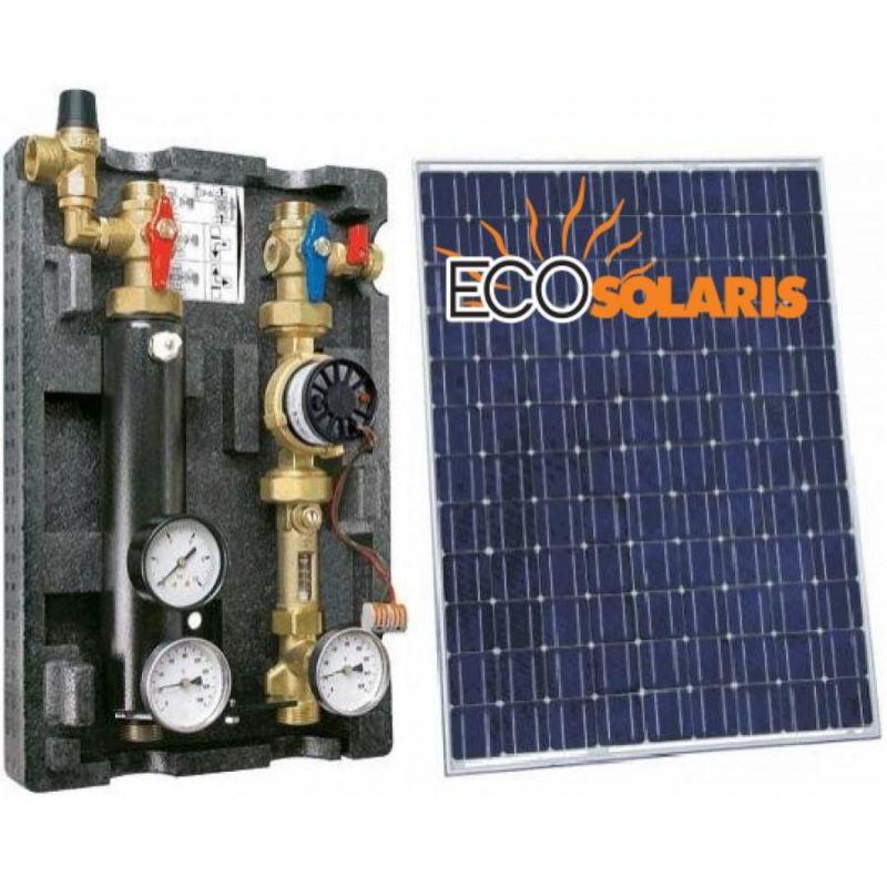 Grup pompare solar dublu EU21 - Panouri Fotovoltaice
