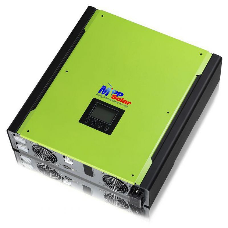 Invertor Hibrid MPI MPPT 10Kw Trifazic - Panouri Fotovoltaice