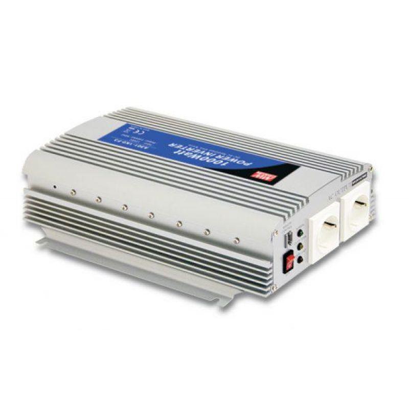 Invertor 1000W Menwell Sinus Modificat 24V/230V - Panouri Fotovoltaice