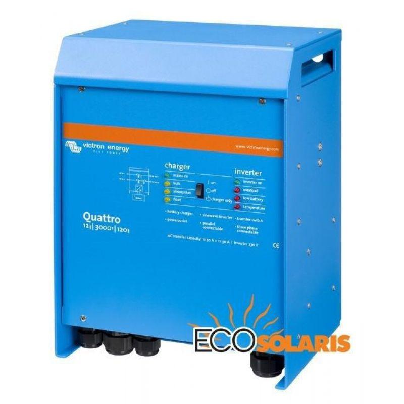 Invertor Victron Quattro 12V 5000VA 220/100-100 - Panouri Fotovoltaice