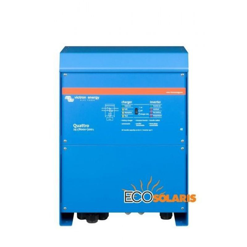 Invertor Victron Quattro 24V 8000VA 200/100-100 - Panouri Fotovoltaice