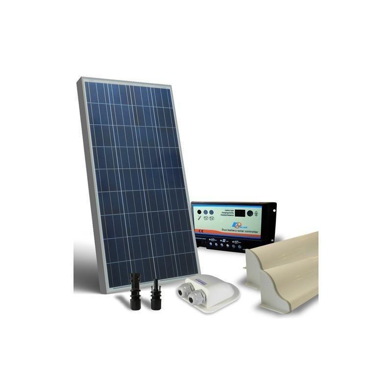 KIT SOLAR FOTOVOLTAIC RULOTA12V 130W/780W zi BASE - Panouri Fotovoltaice