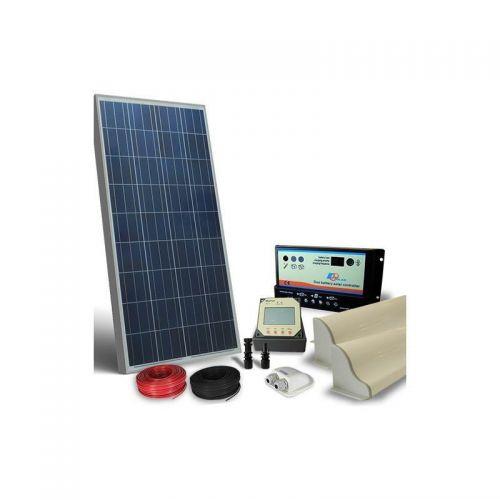 KIT SOLAR FOTOVOLTAIC RULOTA 12V 130W / 780W zi PRO - Panouri Fotovoltaice