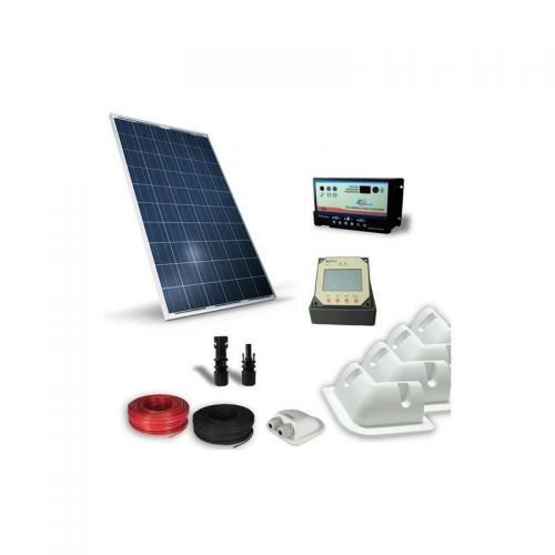 KIT SOLAR FOTOVOLTAIC RULOTA 12V  200W / 1200W zi PRO - Panouri Fotovoltaice