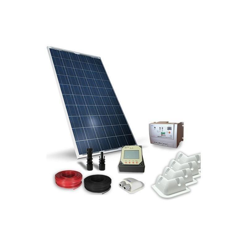 KIT SOLAR FOTOVOLTAIC RULOTA 12V  260W / 1560W zi PRO - Panouri Fotovoltaice