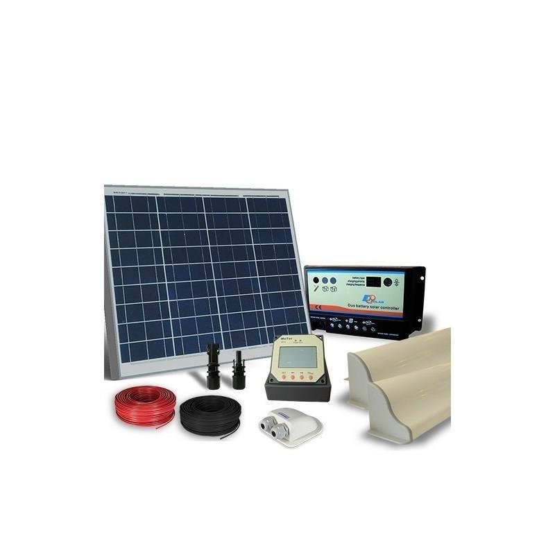 KIT SOLAR FOTOVOLTAIC RULOTA 12V 50W / 300W zi PRO - Panouri Fotovoltaice